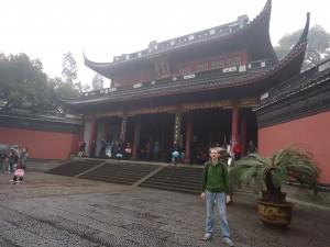 Yue Fei temple Hangzhou China near the West Lake