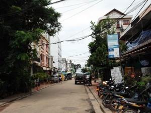 Downtown Vientiane Laos