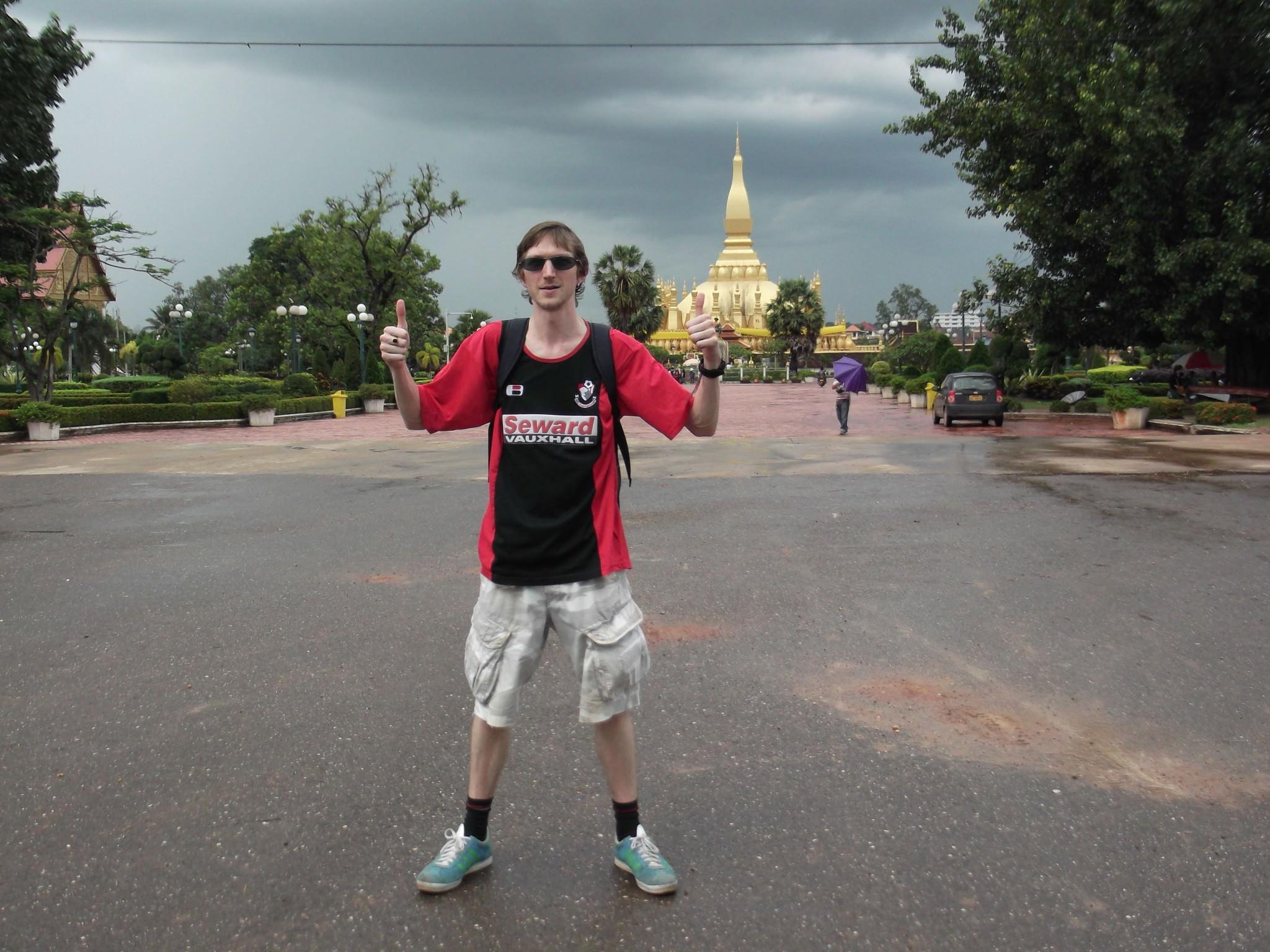 Jonny Blair in Vientiane
