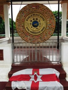 World Peace Gong in Vientiane LAOS