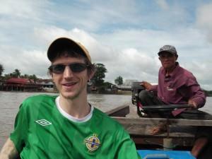Jonny Blair in Laos 4000 islands