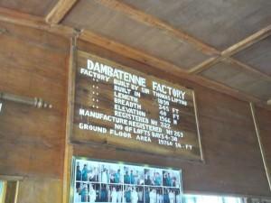 Dambatenne Tea Factory in Sri Lanka entrance