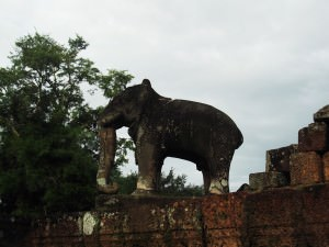 Jonny Blair on his website went to East Mebon in Cambodia