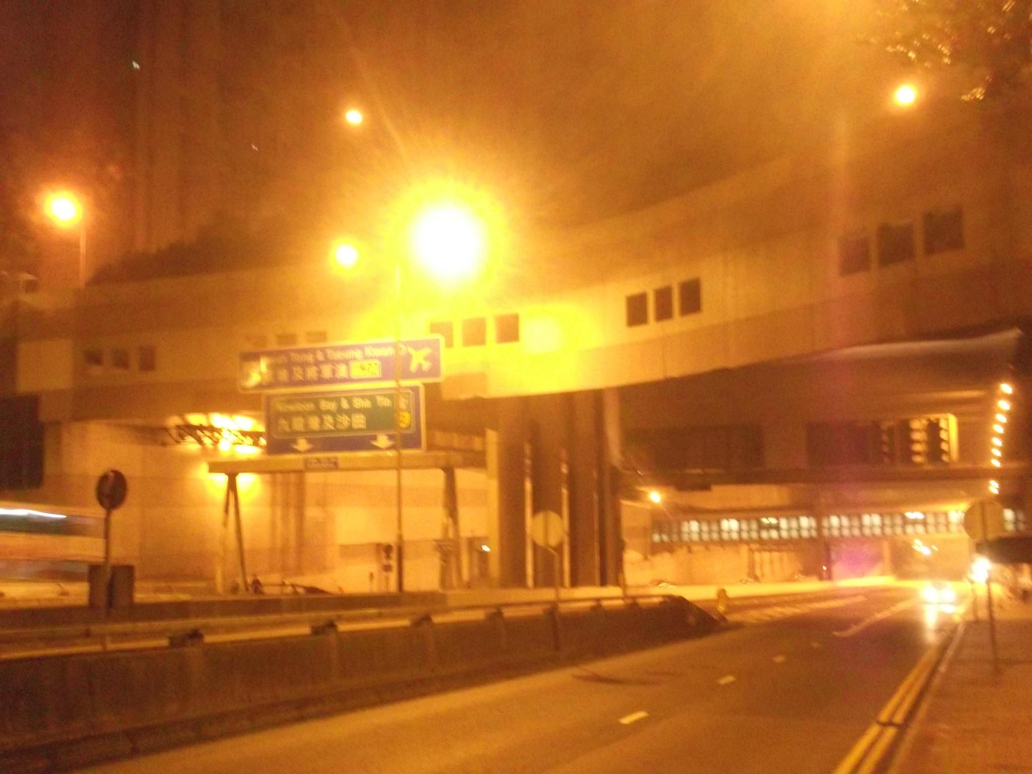 The Kwun Tong to Huanggang 24 hour border bus from Hong Kong to China ...