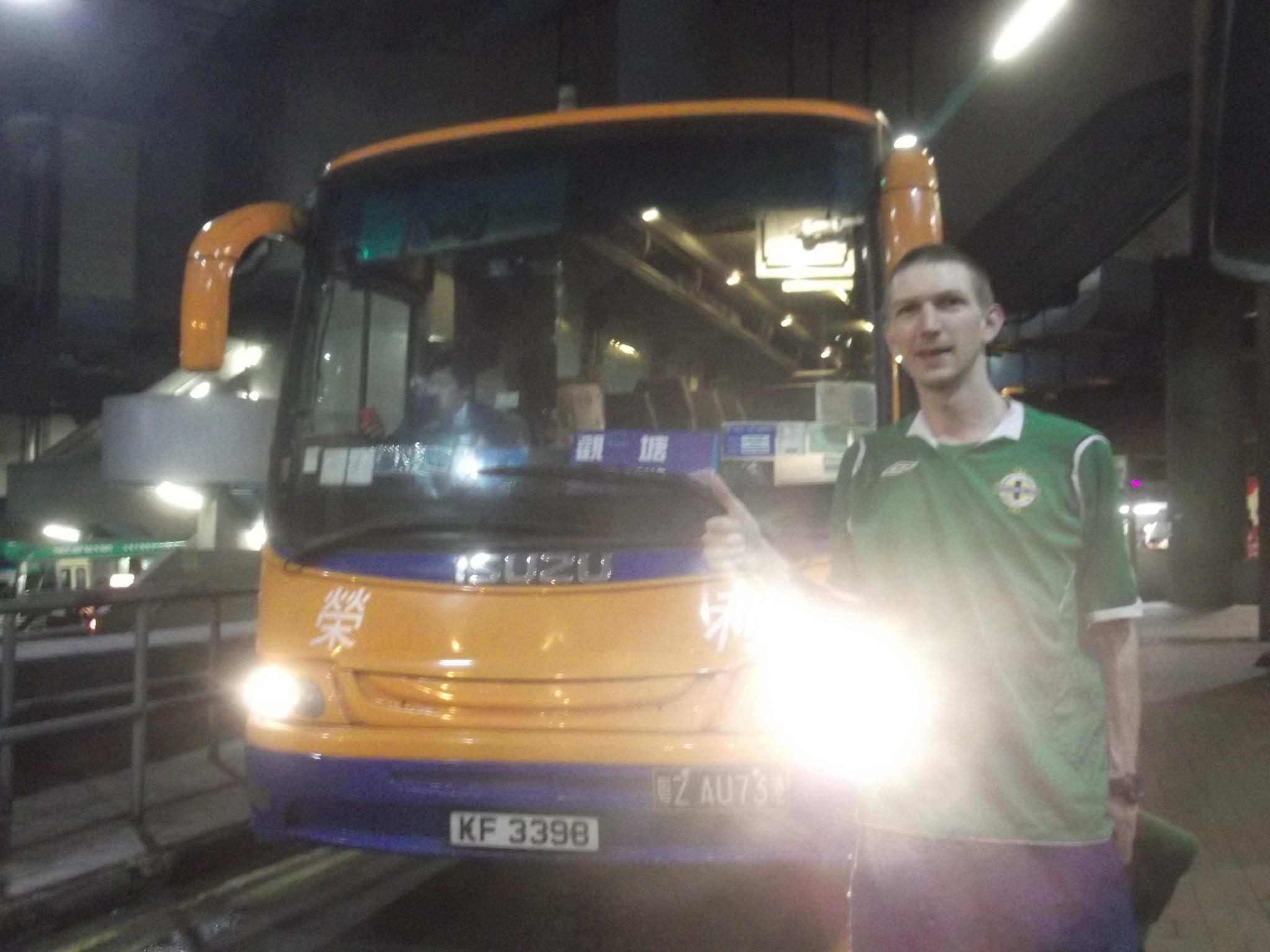 Jonny Blair heading to China from Lam Tin