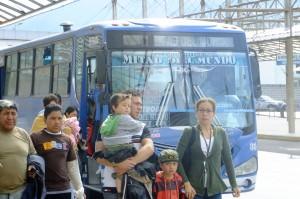 bus to ciudad mitad del mundo from Ofelia