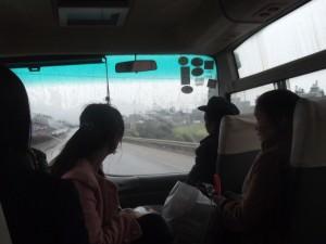 luoping to jin ji cun yellow fields bus