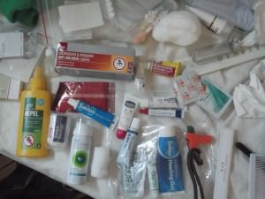 what to pack into a travel first aid kit