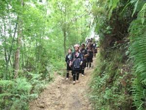 Sapa to Ta Van hike in Vietnam