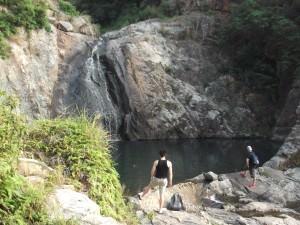 hiking to Yi O from Tai O