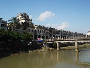 Tianjiang River Chikan Old Town Guangdong China
