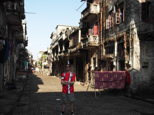 The newer part of Chikan old town in Guangdong China