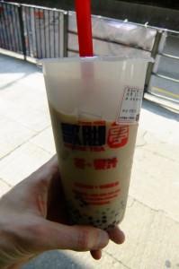 Tapioca Tea in Taiwan