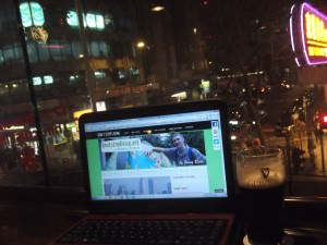 Guinness and a travel blog - working wednesdays