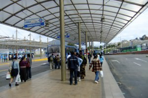 Ofelia bus station quito