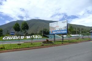 Entrance to Ciudad Mitad del Mundo