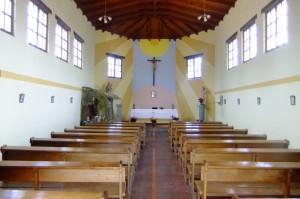 Church on the equator in Ciudad Mitad del Mundo
