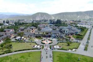 View from Museo Etnografico in Ecuador