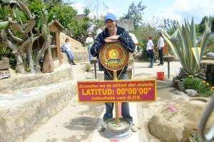 Jonny Blair of Dont Stop Living on the Equator