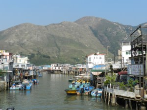 Tai O Fishing Village in Hong Kong