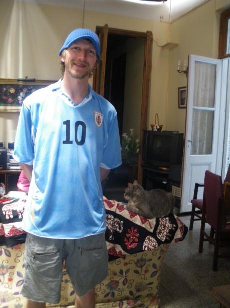 Jonny Blair in Montevideo Uruguay