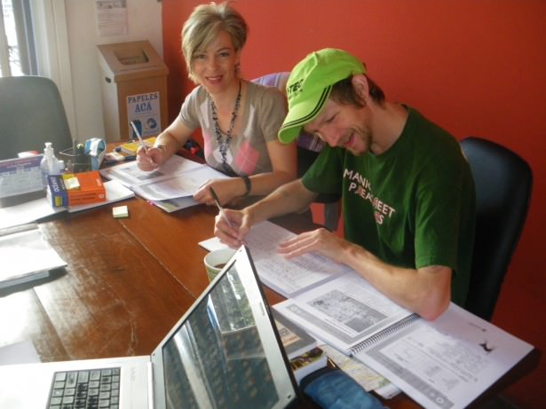 Jonny Blair studying in Uruguay