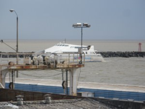 Ferry from Uruguay to Argentina