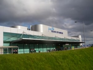 Sleeping at Belfast City Airport George Best