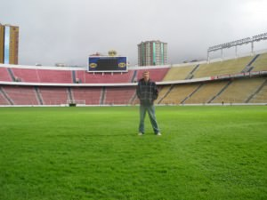 World's Highest National Football Stadium in La Paz
