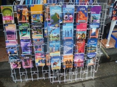 Fake lonely planet books