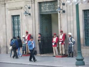 Palace at Plaza Murillo La Paz Bolivia