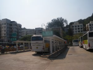 Bus from Mui Wo to Tai O