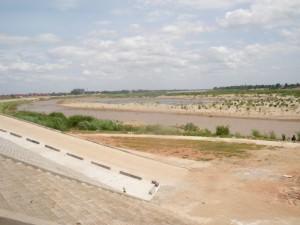 Waterfront in Vientiane