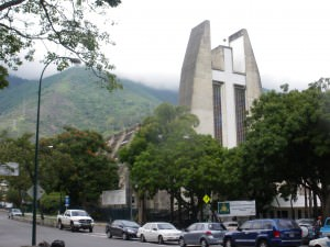 Church in Altamira Caracas Venezuela