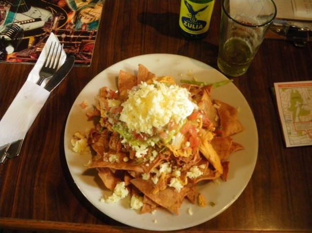 Venezuelan Nachos in the Little Rock Cafe