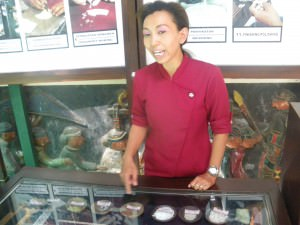 Silver factory tour Indonesia Java