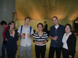Free food and drinks at a lecture in Sydney in 2009