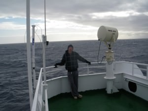 Crossing the Drake Passage to Antarctica