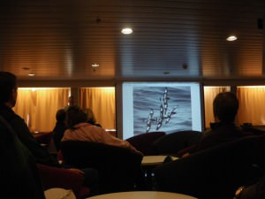 Lectures during the Drake Passage crossing