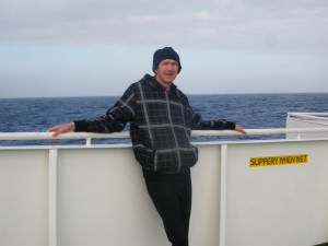Relaxing on the Drake Passage Antarctica