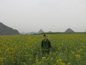 Yellow Fields in Luoping China