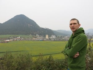 yellow fields at luoping Yunnan China