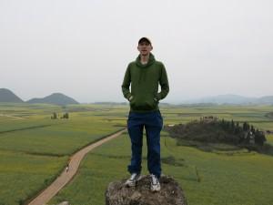 Jonny Blair in Jin Ji Cun Yellow Fields