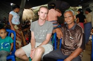 Indonesian chief in Village