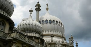 Brighton Pavilion close up shot by Maria Falvey