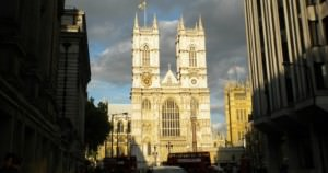 Great image of Westminster Abbey in London, England