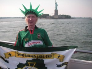 Northern Ireland flag Statue of Liberty
