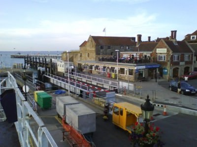 Yarmouth harbour Isle of Wight