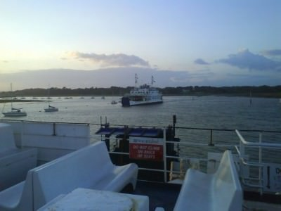 Wightlink ferries Cenwulf