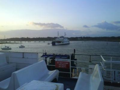 Wightlink ferries Cenwulf